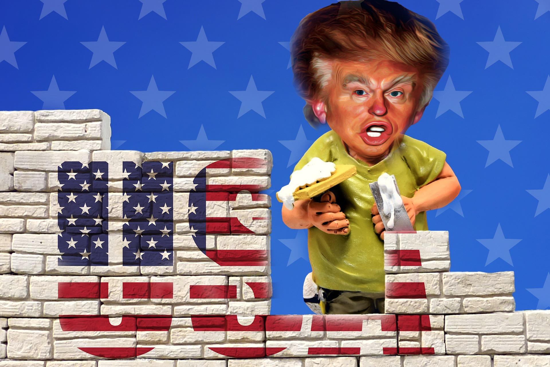 ¿Y el muro de Trump?