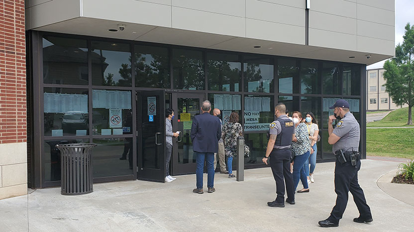 Peruanos acudieron a votar en Oklahoma