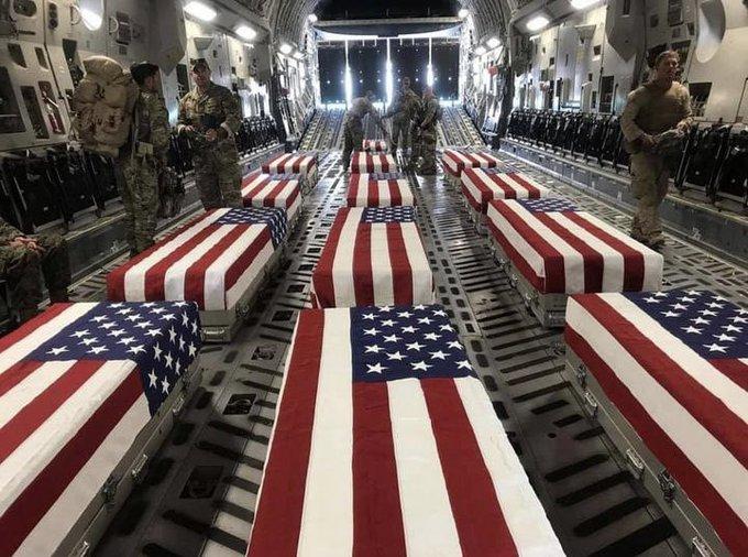 Marines Hispanos entre muertos en Kabul